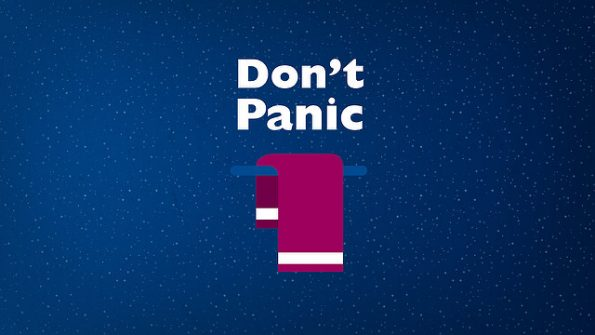 Don't panic pic from audiencestack.com