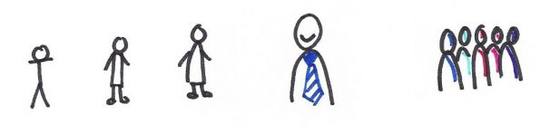 graphic recording examples of drawing people