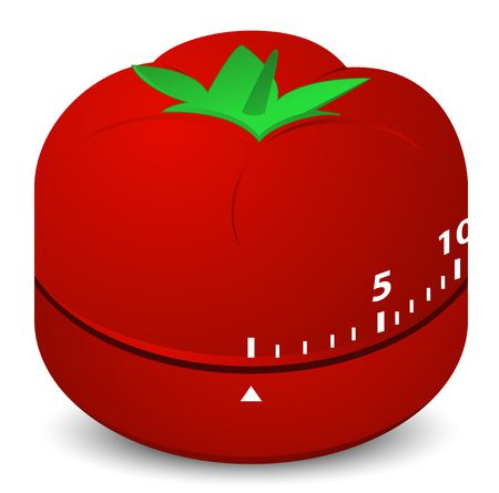 tomato clock timer for time boxing personal workflow