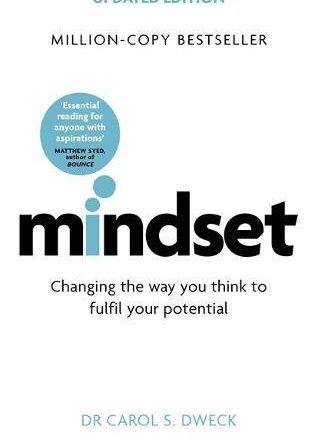 Mindset, Dr Carol Dweck book cover